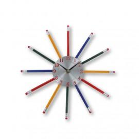 Horloge Crayons