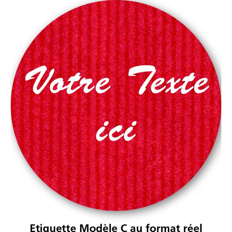 Etiquette Nature Modèle C