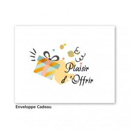 Enveloppe pour carte cadeau